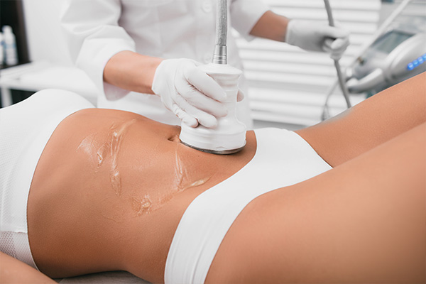 Ultrasound Cavitation Close Up