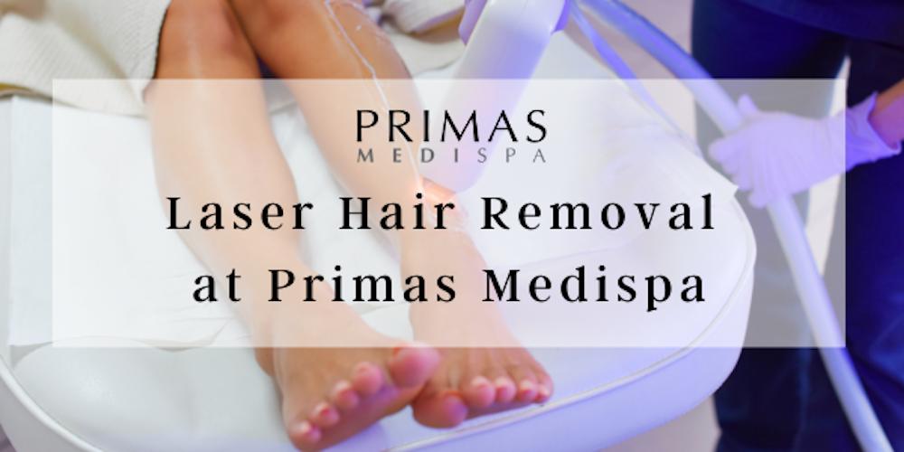 Laser Hair Removal at Primas Medispa London