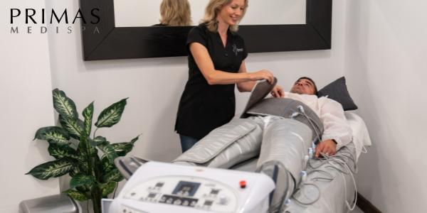 Pressotherapy Lymphatic Massage at Primas Medispa London
